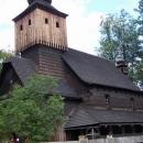 Dřevěný kostel z Ukrajiny