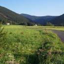 Údolí kudy jsme sestupovali z Tanečnice