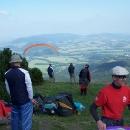 KOpec je hojně využíván paraglidisty