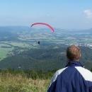 Jen tak si za krásného počasí létají nad horami