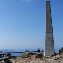Skutečný vrchol (1.323 m.) je ale o pár metrů dál