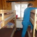 Náš pokojík na Masarykově chatě (skoro celý)