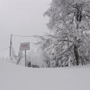 Masarykova chata se nachází přímo na hranicích se Slovenskem