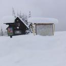 Vrstvy sněhu na Bumbálce. I tady jsou dneska tyhle mapy na nic :-)