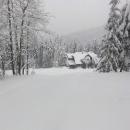 Chata Sněžná, další ze série horských chat na hřebeni Beskyd