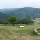Panorama výhledů a atmosféry horské chaty Kamenitý. Zde dneska spíme!