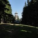 Kaple sv. Anny na vrchu Kozubová s rozhlednou (bohužel zavřenou)