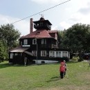 Chata na Prašivé (poslední horská chata) nás přivítala v sobotním dopoledni.