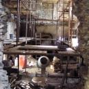 Hrad je postupně rekonstruován