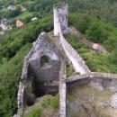 Z věže je hrad jako na dlani