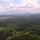 Výhled k Ralsku (zimní pohled z Ralska obráceně)