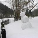 Sněhový strážce Lesovny