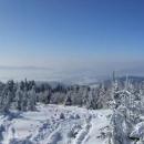 Výhledy do Čech z výstupu na Klepáč (Trójmorski Wierch)