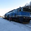 V Horní Lipové vystupujeme z vlaku tzv. brejlovce