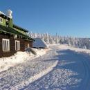 Pohodová 4 pruhová běžkařská magistrála na Ovčárnu a Praděd