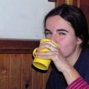 Markéta pije čaj