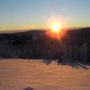 Slunce mezitím povážlivě kleslo k obzoru