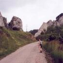 Ranní procházka kolem skal