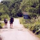 Turistická značka vede jednou u nás, jednou na Slovensku