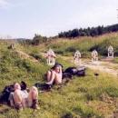 Odpočíváme u zátaras pod Kykulou (746 m.n.m.). Aby ani myš nepronikla do sousední země