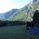 Nový kemp v údolí Tary