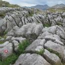 Zajímavě erodované skalní útvary