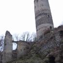 Pod věží Šelmberka, škoda že nebyla otevřená