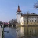 Zámek v Blatné, jeden ze tří vodních zámků či hradů v ČR