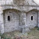 O dlouhé historii zámku vypovídá i zbytek bývalé románské kaple