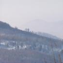Z Milešovky je vidět i na hrad Kostomlaty