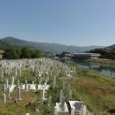Muslimský hřbitov v Goražde