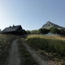 Planinarská chata mezi Jugovým a Orlovačka jezerem