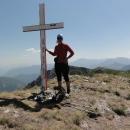 Markéta na 2014 metrů vysokém Bregoči