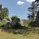 Zřícenina hradu nad Kolašinem