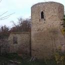 Jádro hradu Valdek