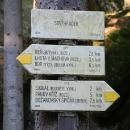 Soví hrádek - první skalní útvar na trase