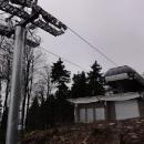 Horní stanice lanovky na Bukové hoře
