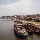 Bělehrad je v první řadě ohromný přístav na Dunaji