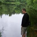 Rybníček nad Kunžakem - Luděk by tam prý hned skočil