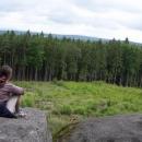 Výhled v Vysokého kamene směrem na Vysočinu