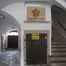 Vstup do Slavonického podzemí, musíme si ho ale nechat na příště
