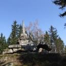 Dobytí nejvyššího vrcholu České Kanady, Vysokého Kamene 738m n.m.