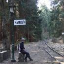 Čekání zda pojede vlak slavné úzkokolejky