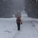Ale o kousek výš už hustě sněží