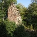 Torzo hradního paláce na Pajreku
