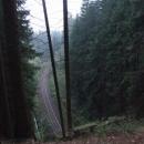 Výjezd z nejdelšího železničního tunelu ČR