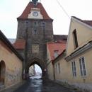Gotická brána v Domažlicích