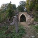 Vstupní brána do hradu Rýzmberk
