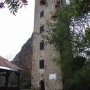 Hrad Rýzmberk – z věže je nyní rozhledna