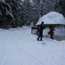 Turistický přechod u Křížového kamene - vracíme se zpět do ČR